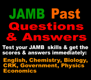 JAMB Past Questions on Mathematics