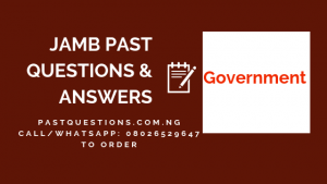 JAMB Past Questions and Answers on Government PDF