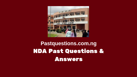 NDA past questions and answers for all subjects