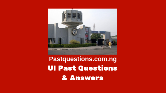 UI Post UTME past questions and answers