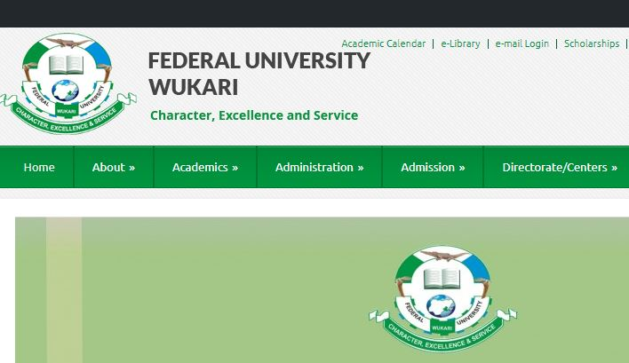 FUWukari Post UTME Past Questions and Answers