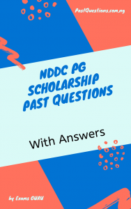 NDDC Scholarship Test Past Questions And Answers