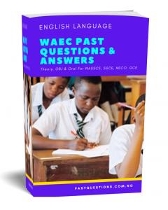 WAEC Past Questions - English Language Cover