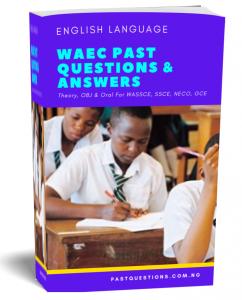 WAEC Past Questions - English Language Cover 2